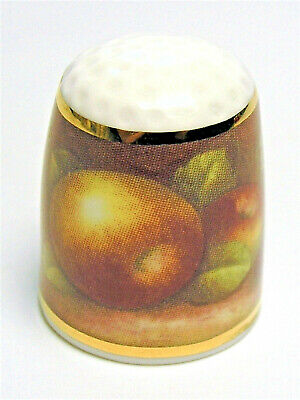 Fingerhut Thimble von Ayshford England - Autumn Fruit