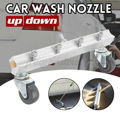 4 Nozzle Car Chassis Washer High Pressure Water Cleaning Tool Washing Gun USA