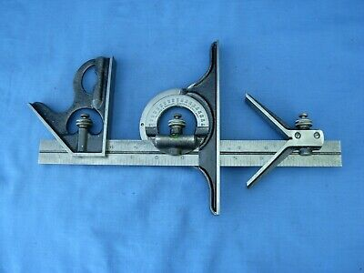 Vintage Engineering Moore and wright combination set. In good used condition .