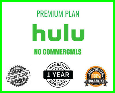 Hulu Premium Account + No Ads  | 1 Year Warranty | 30s Delivery