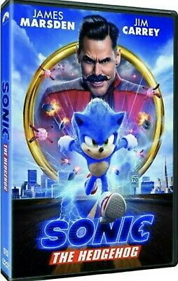 Sonic The Hedgehog (DVD,2020) >>>NEW<<< PRE-ORDER >>> SHIPS 05/19/2020