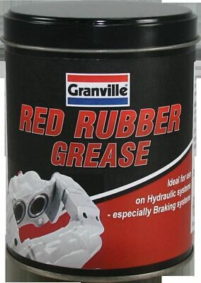 Granville Rubber Grease for Hydraulic & Braking Systems in Red - 500g