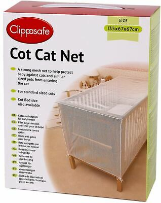 Clippasafe Child Cot Cat Net Baby Child Kids Home Safety Proofing -BN