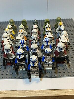 Lot of 4 RANDOM Lego Star Wars Minifigures Clone Troopers Jedi Sith preselected