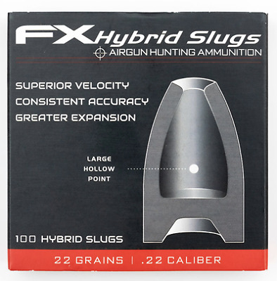 FX Airgun Hybrids .22 Slugs - 22g