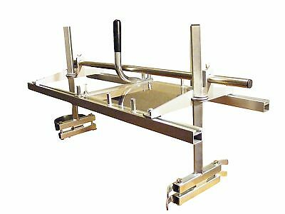 """24"""" Chainsaw Mill - With Extra 36"""" and 48"""" Rail & Bar Sets"""