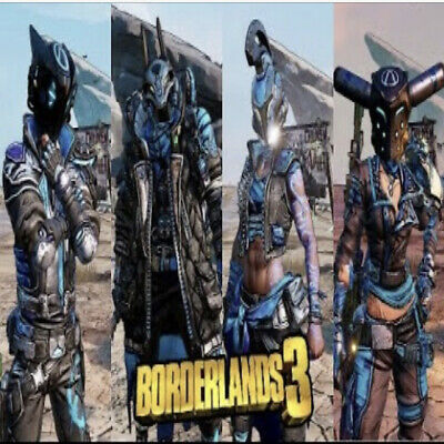 Borderlands 3 Like Follow Obey Skin Collection (4 Heads+4 Skins) (Xbox One)(PC)