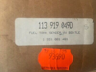 Vintage ?? Vw Bettle   Fuel Tank Sender   New  Look And See