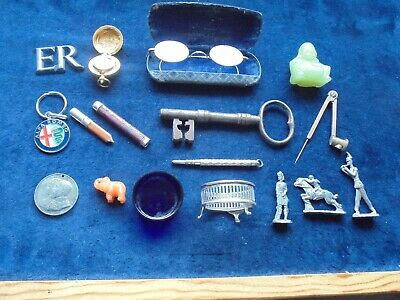 Genuine Job Lot Of Antique And Vintage Collectables With Silver 809 K