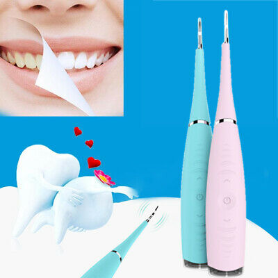Electric Tooth Cleaner Ultrasonic Oral Irrigator Cleaning Kit Teeth Stain Dental