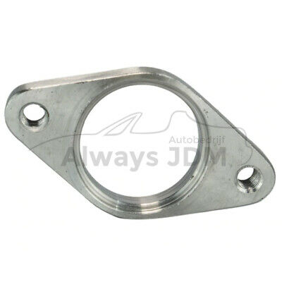 Tapped 38mm wastegate exhaust flange Universal