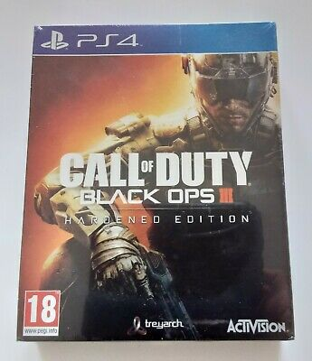 Call of Duty Black Ops III Steelbook Edition PS4 Playstation 4 Brand New Sealed