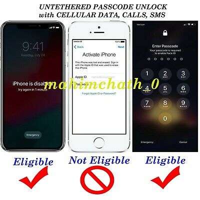 🔥 Icloud removal /unlock with cellular data, calls, sms  – Mac users only 🔥