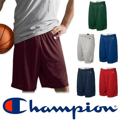 Champion Authentic Men's Mesh Basketball Soccer Athletic Gym Shorts 8731 New