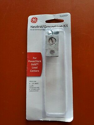 NEW G E  Neutral GROUND Lug Kit Part TLK20CP for POWERMARK Gold Load Centers