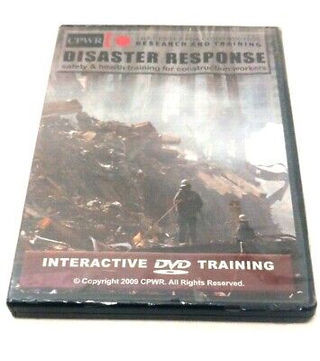 Disaster Response: Safety & Health Training for Construction Workers DVD 2009