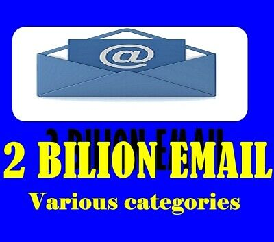 2 Billion Company Email Database Marketing List