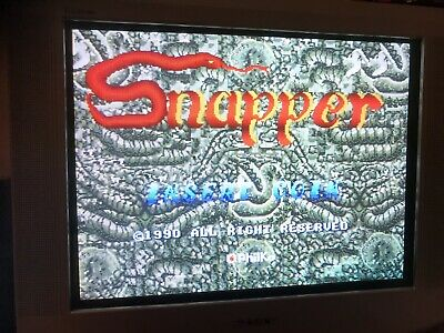 Snapper , Jamma Pcb Original Philko ,Working ( Video)