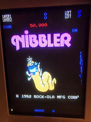 Nibbler SNK Original , + Adattatore Jamma Pcb  . Working ( Video )