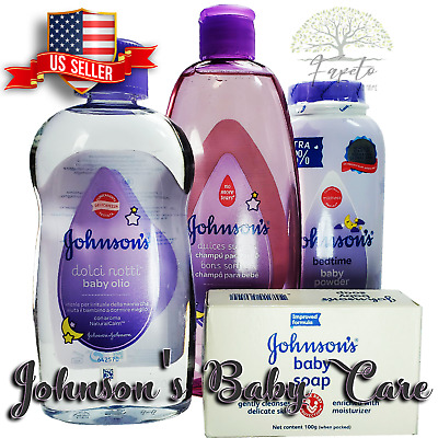 🆕JOHNSON'S Baby Set Bedtime Natural Calm, NO Tears, Delicate, FREE SHIPPING