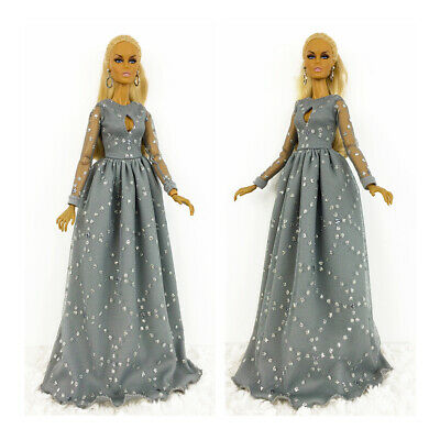 Fashion Royalty Handmade Party Gray Dress Integrity Toys Color Infusion Clothes