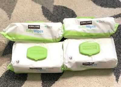Kirkland Baby Wipes (400 Wipes) Hypoallergenic, Unscented