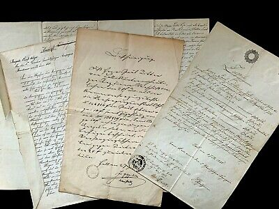 1800s OLD PAPERS LOT