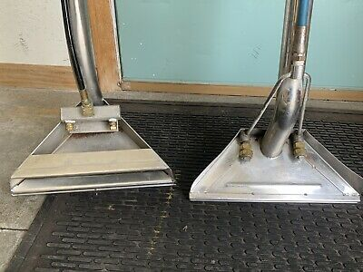 Stainless Steel  S Wands Carpet Cleaning. Great Condition With All Working Parts