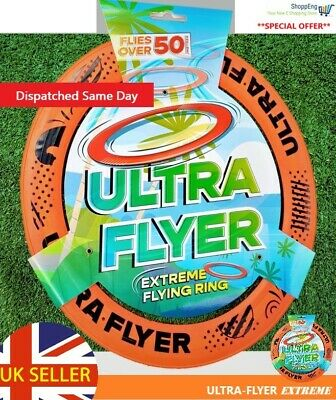 "Ultra Flyer - Extreme 10"" Pro Flying Frisbee Disc Ring...brand New..."