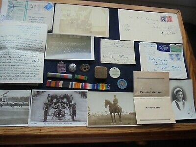 Job Lot Antique/Vintage Ww1/Ww2 Collectables And Associated Items  819 K