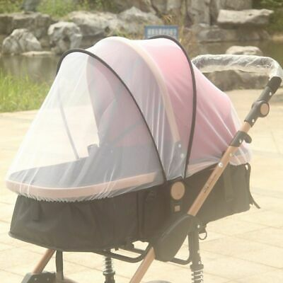 pink Insect fly Cover Mosquito net sun dust protect mesh for Pram Stroller NEW