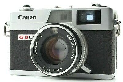【EXCELLENT+++】Canon Canonet QL17 GIII 35mm Rangefinder Camera 40mm F/1.7 JAPAN