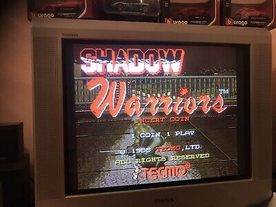 Shadow Warriors Original  , Jamma Pcb  . Working ( Video )