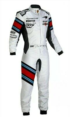 Martini sublimited printed go kart race suit,in all size