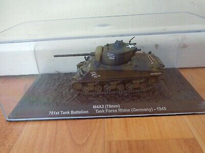 Atlas Deagostini 1/72 M4A3 76Mm Sherman Germany 1945 Ww2 Diecast Tank