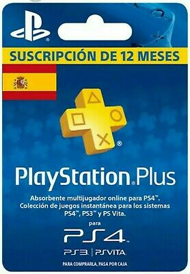 🔥PS PLUS PlayStation 12 meses 1 año GARANTIA 100% (NO CODIGO) LEE DESCRIPCIÓN🔥