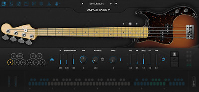 Ample Sound Ample Bass P III VST-AU-AAX | Windows & Mac | FAST Delivery