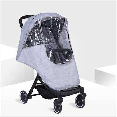 Travel Weather Shield Baby Supplies Stroller Accessories Infants Clear FM