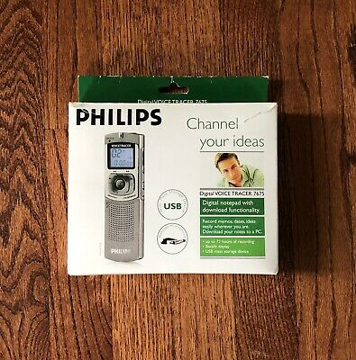 Phillips Digital Voice Tracer 7675