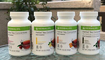 Herbal Tea Concentrate: 3.6 OZ Multi Flavor (102g) - FS