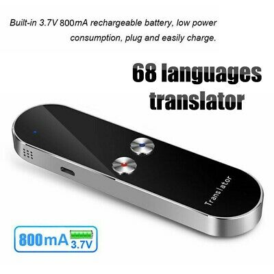 K8 Smart Translation Intelligent Translator 68 Language Instant Voice Device#