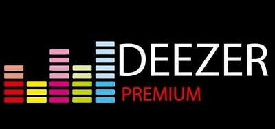 Deezer Premium 3 Months | Express Delivery |Personal Account