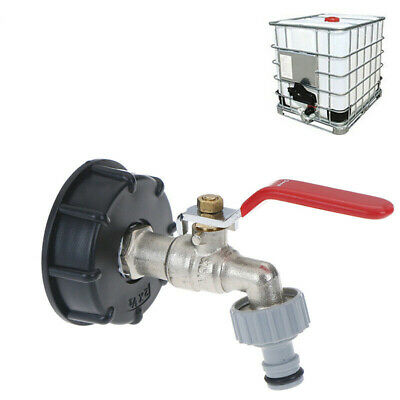 IBC Adapter S60 X6 With 1/2 Outlet Tap Kit For Rain Water Tank Rainwater Barrel