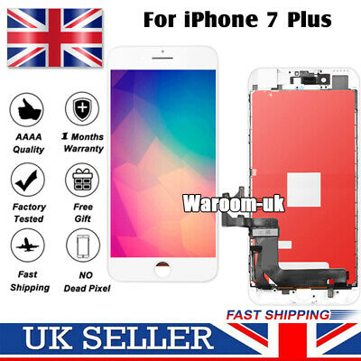 White For iPhone 7 Plus Screen Replacement Retina LCD Touch Digitizer Display