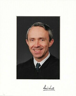 Justice David Souter Signed Photograph