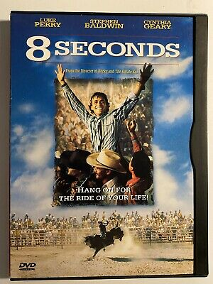 8 Seconds [DVD] Luke Perry Stephen Baldwin 1994 Widescreen & Full screen