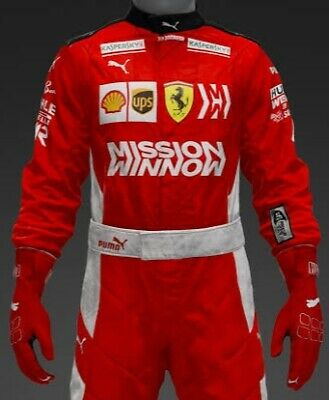 "FERRARI 2018 F1 ""MISSION WINNOW"" F1 2018 Ferrari suits livery"