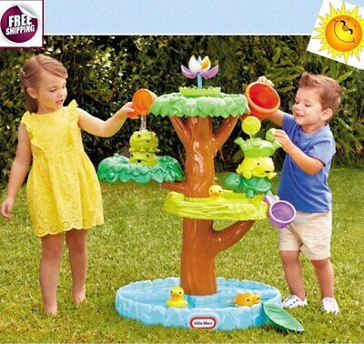 Flower Water Table Accessories Sand Outdoor Activity Play Plastic Toys Kids New