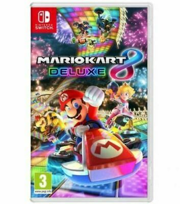 Mario Kart 8 Deluxe for Nintendo Switch - Brand New - Free Shipping