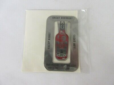 Vintage Advertising Old Hickory Whiskey Metal Promo Clip    S-711